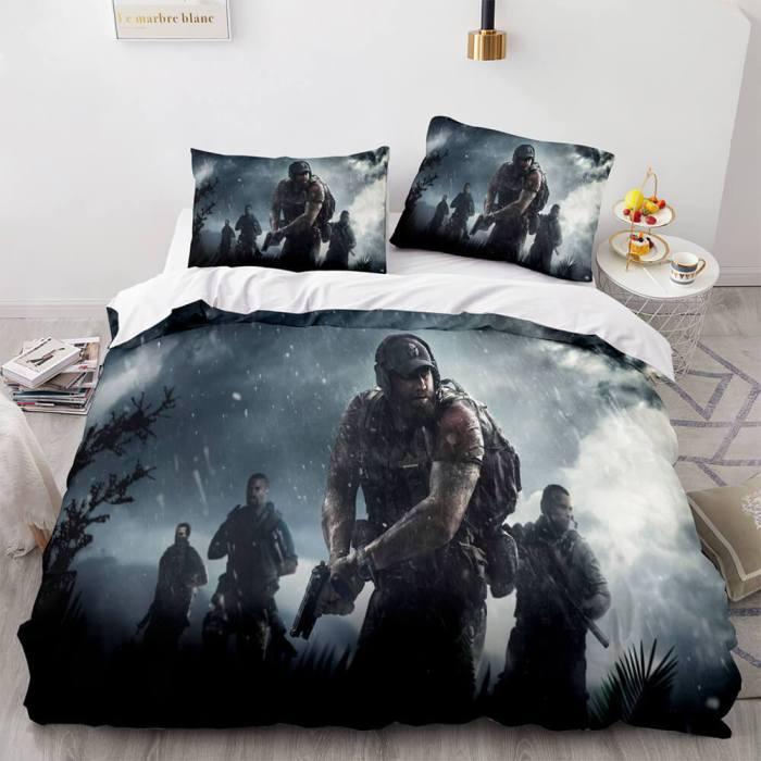 Counter-Strike Cs Bedding Set Quilt Duvet Covers Comforter Bed Sheets