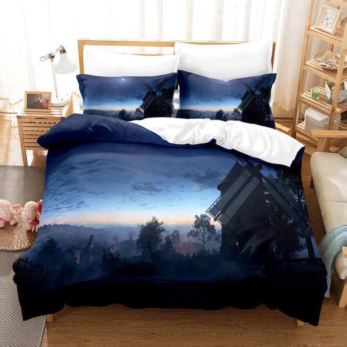 Battlefield 3 Piece Bedding Sets Comforter Duvet Covers Bed Sheets