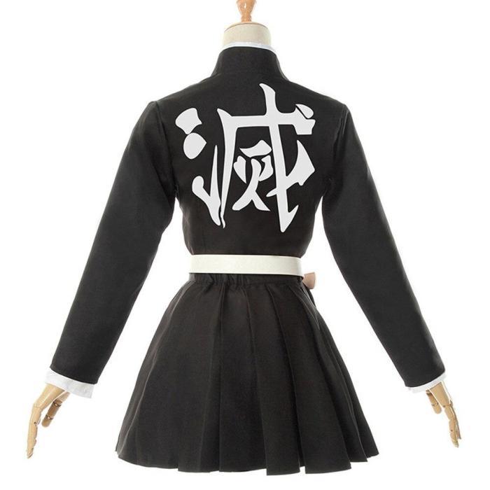 Adult Kids Anime Cosplay Demon Slayer Kimetsu No Yaiba Woman Kimono Kanroji Mitsuri Costume