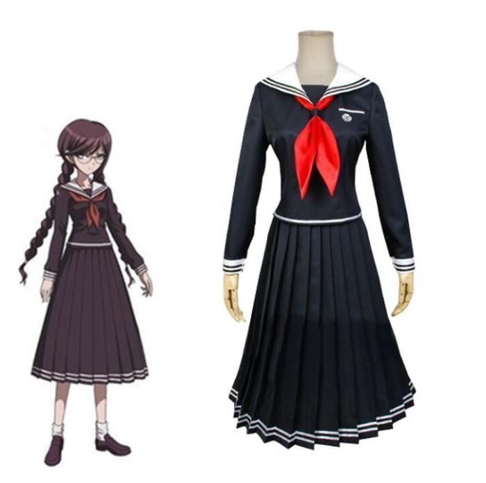 Anime Danganronpa Dangan-Ronpa 2 Toko Fukawa Uniform Set Cosplay Costume