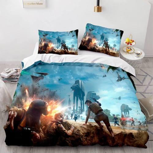 Star Wars Battlefront Bespin Cosplay Bedding Set Duvet Covers Sheets