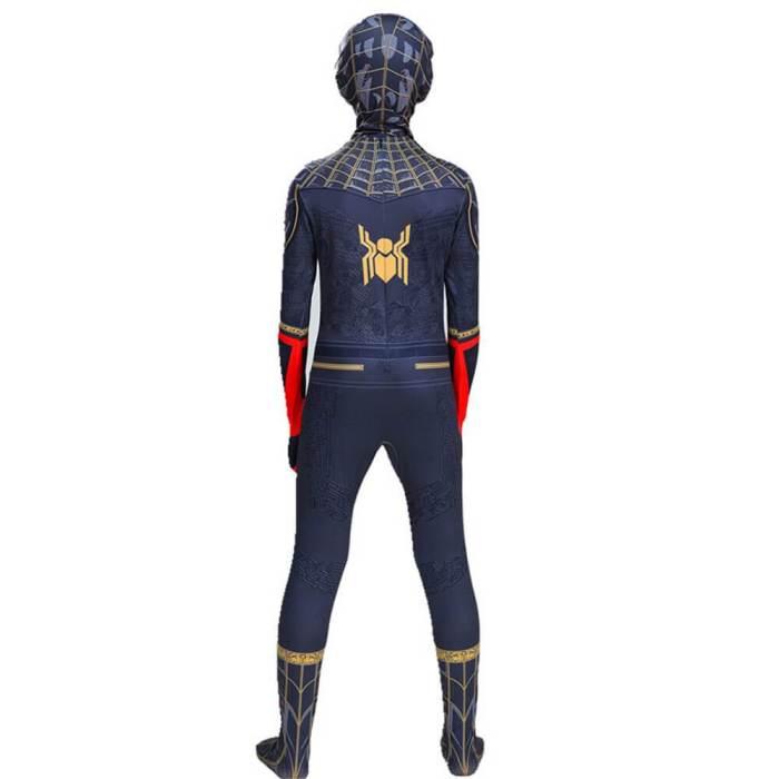 Kids Spider-Man No Way Home Peter Parker Jumpsuit Cosplay Costume