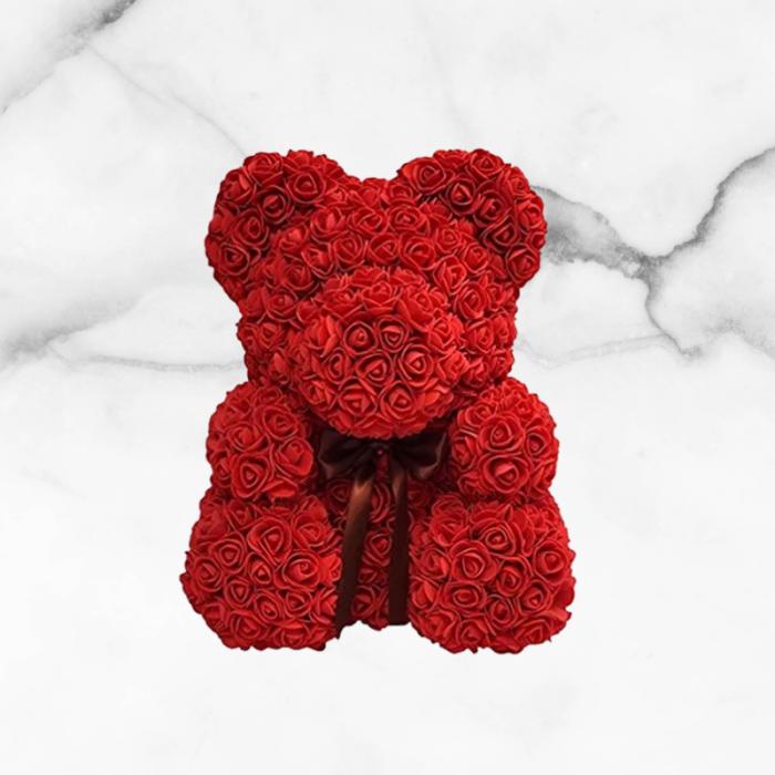 Rose Petal Teddy Bear