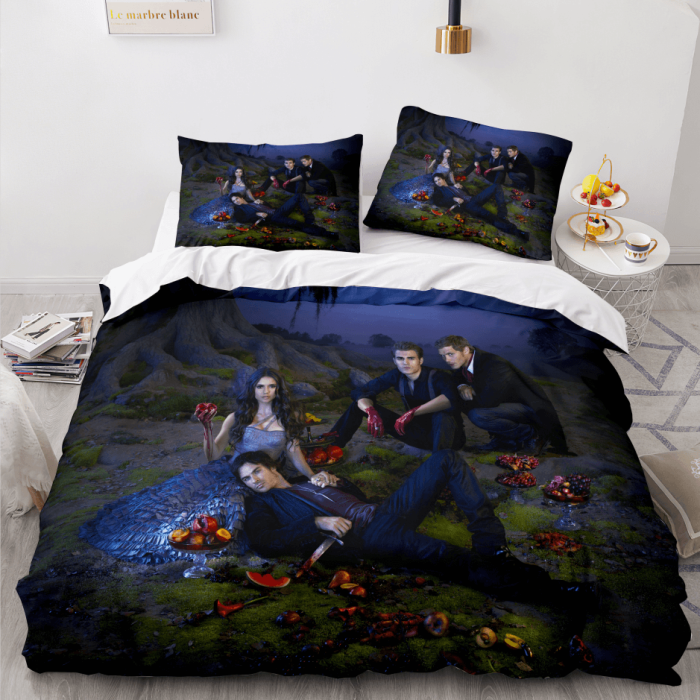 Twilight The Vampire Diaries Series Cosplay Bedding Duvet Cover Sets