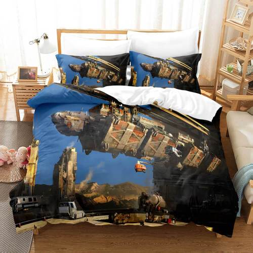 World Of Warships Cosplay Comforter 3 Piece Bedding Sets Duvet Covers