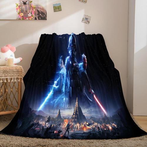 Star Wars Flannel Fleece Throw Cosplay Blanket Halloween Comforter Set