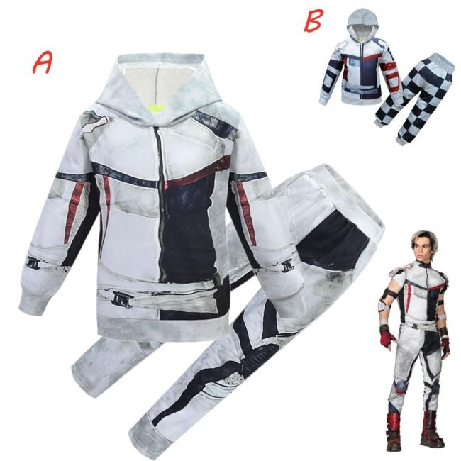 Boys Clothes Performance Clothing Descendants 3 Carlos Clothes Set Christmas Costume Party 3D Boys Casual Costumes Carnival