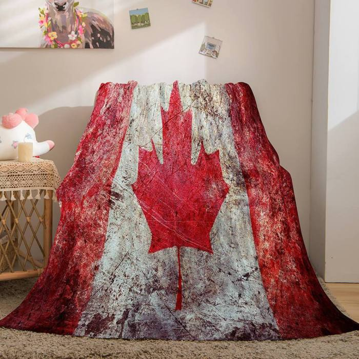 Famous Country National Flag Flannel Fleece Throw Blanket Bedding Sets