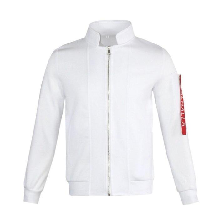 Anime Tokyo Revengers Hanemiya Kazutora Cosplay Wig White Coat Valhalla Uniform Baseball Jacket Mikey Draken Halloween Adults