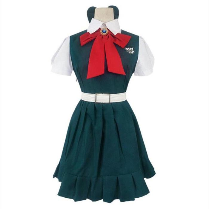 Anime Danganronpa 2 Despair Sonia Nevermind Cosplay Dress Woman Party Halloween Costume Jk School Uniform