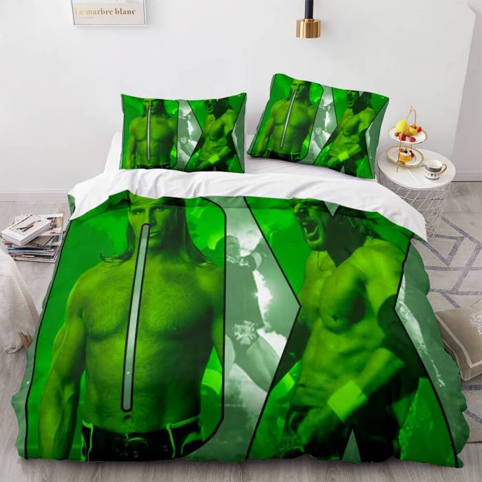 Wwe Raw Cosplay Full Bedding Sets Duvet Covers Comforter Bed Sheets