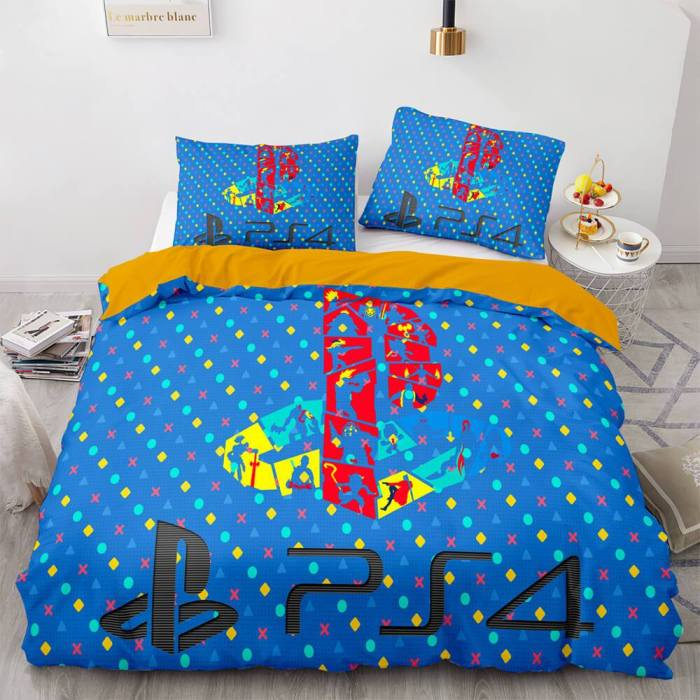 Ps4 Gamepad Bedding Sets Game Duvet Covers Comforter Bed Sheets
