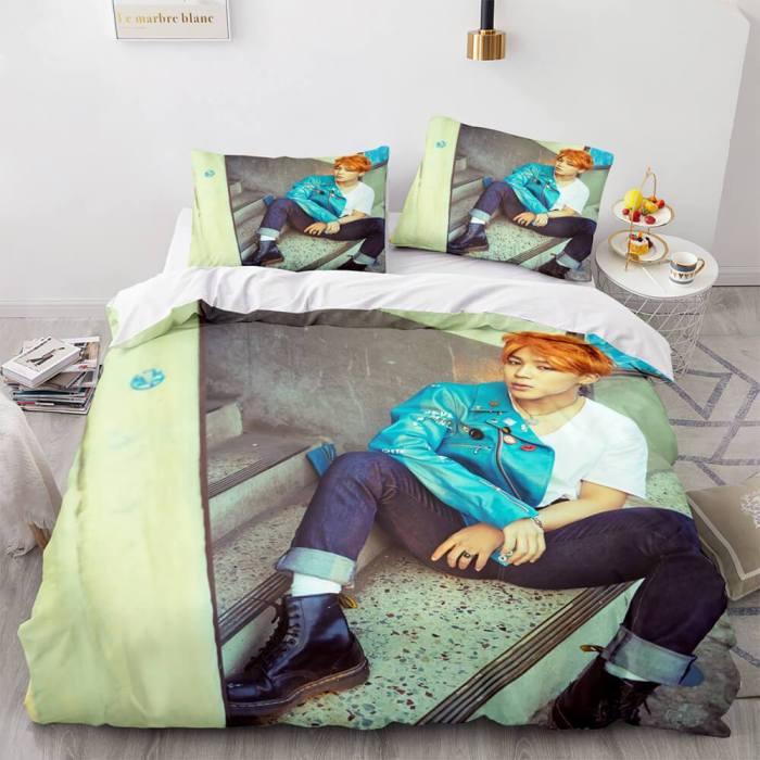 Bts Butter Cosplay Bedding Set Full Duvet Covers Bed Sheets