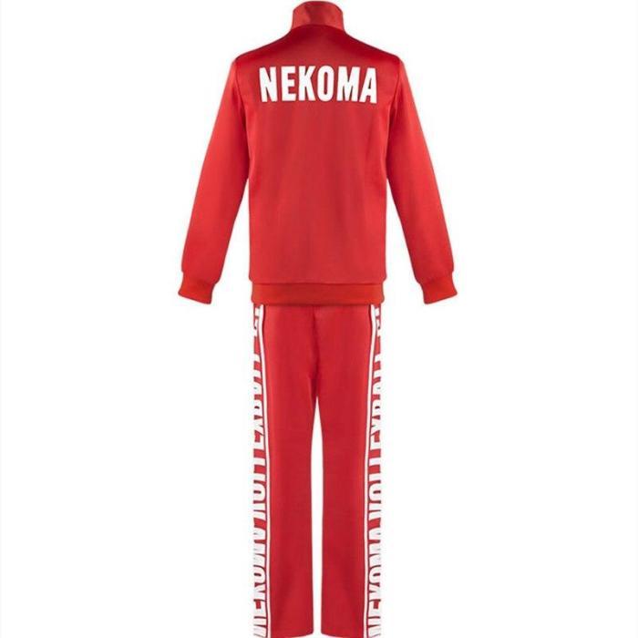 Anime  Nekoma High School No 5 Jersey Uniform Haikyuu Kenma Kozume Cosplay Costume Short Sleeve Shorts Sportswear Suit