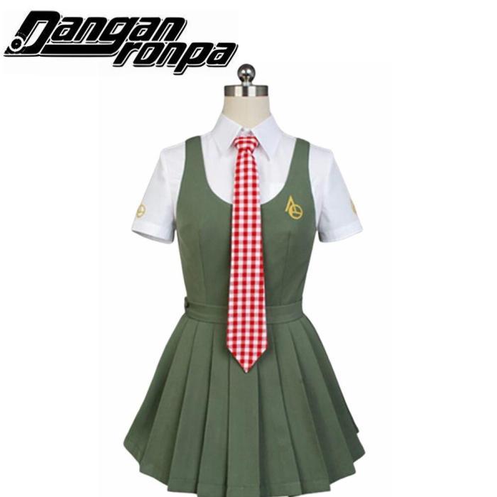Fun Japan Anime Super Dangan Ronpa 2 Danganronpa Koizumi Mahiru Cosplay Costumeschool Full Set Uniform White Shirt Skirt