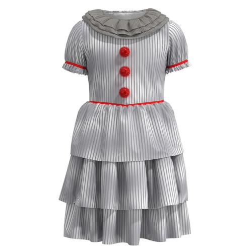 It Pennywise Stephen King'S Kids Children Halloween  Cosplay Costumes
