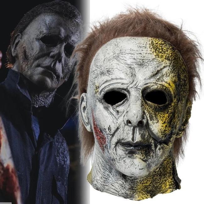 Halloween Kills Movie Cosplay Mask Latex Full Face Helmet Horror Masquerade Party Prop