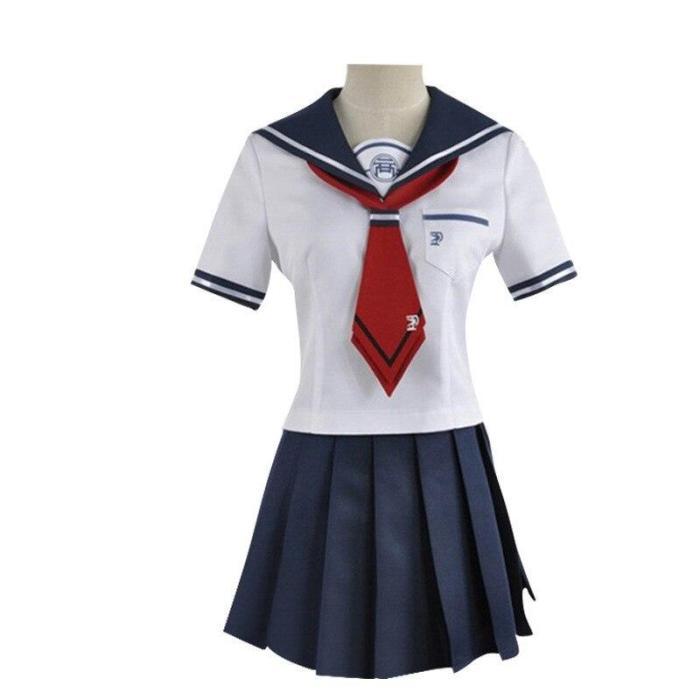 Anime Danganronpa Cosplay Costumes Naegi Komaru Women Skirt Clothes