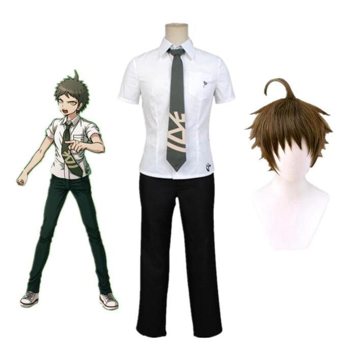 Danganronpa Hinata Hajime School Uniforms Set Cosplay Costumes Anime Clothes