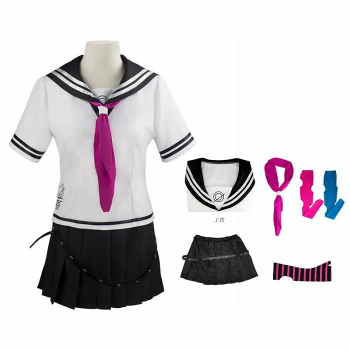 Anime Super Dangan Ronpa 2 Danganronpa Ibuki Mioda Dress Uniform Cosplay Costume