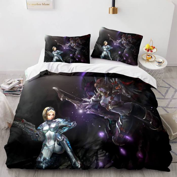 World Of Warcraft Cosplay Bedding Sets Duvet Covers Bed Sheets