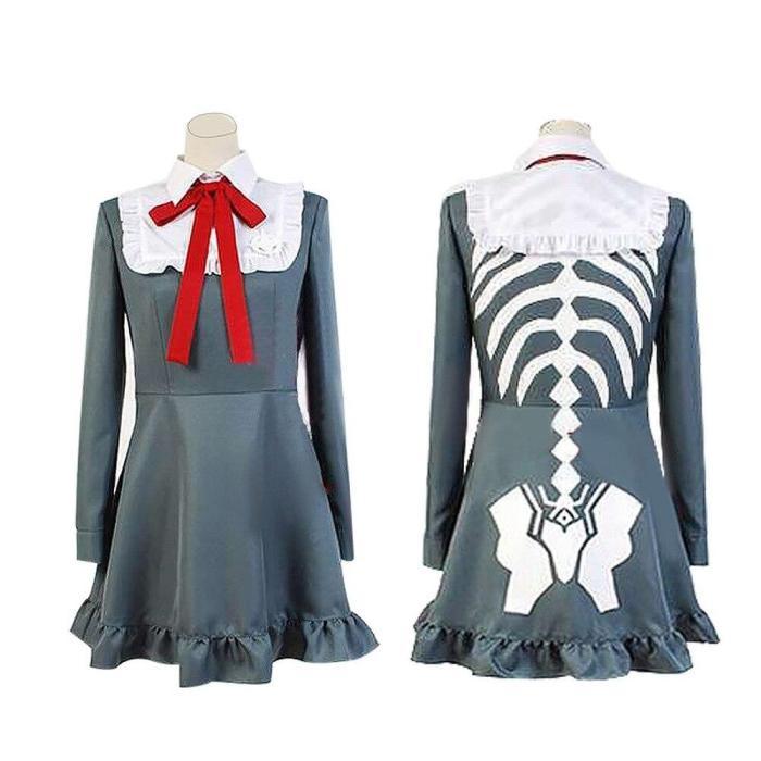 Danganronpa V3 Cosplay Costumes Monaka Cosplay Bodysuit Anime Cosplay Dress Set Halloween Costumes For Women Love Live Cosplay