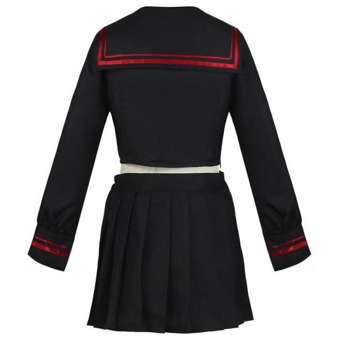 Anime Tokyo Revengers Dress Shiba Yuzuha Cosplay Costumes Skirt Suit Sailor School Uniform Girls Women Halloween Party Costume
