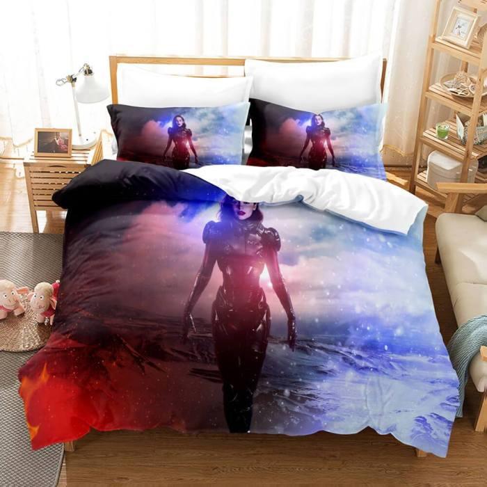 Mass Effect Andromeda Cosplay Comforter Bedding Sets Duvet Covers