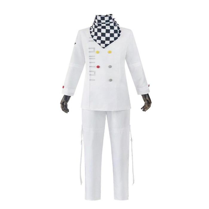 Danganronpa V3 Kokichi Oma Uniforms Scarf Anime Cloak Cosplay Costume President Oma Cosplay Cloak Halloween Carnival Costume