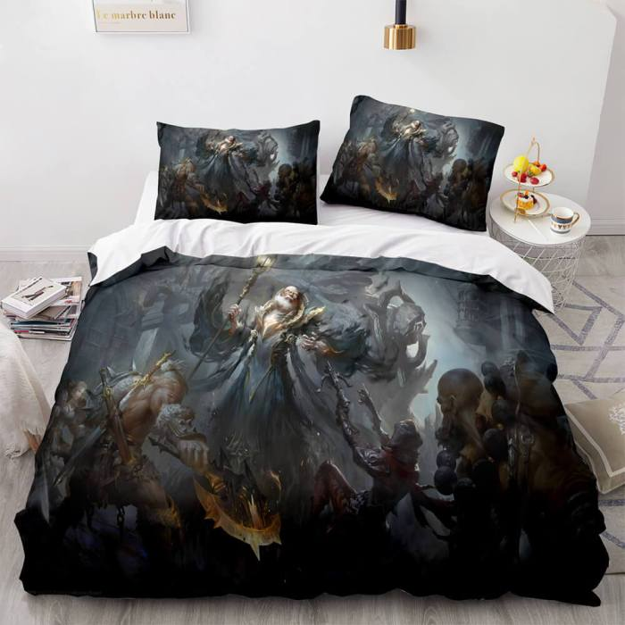 Blizzard Starcraft Cosplay Bedding Sets Comforter Duvet Covers Sheets