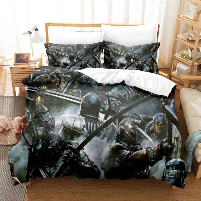 Game For Honor Bedding Set 3 Piece Duvet Covers Comforter Bed Sheets
