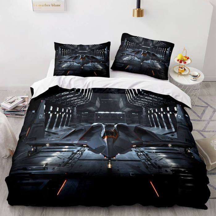 Star Citizen Cosplay Bedding Sets Duvet Covers Comforter Bed Sheets