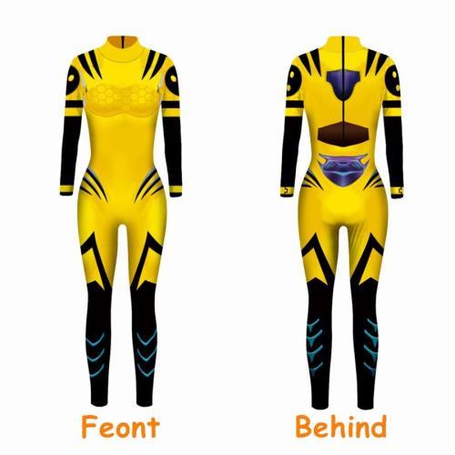 X-Men: Dark Phoenix Jean Grey Cosplay Costume Jumpsuit Jacket Uniform Suit For Women Dark Phoenix Halloween Carnival Costumes