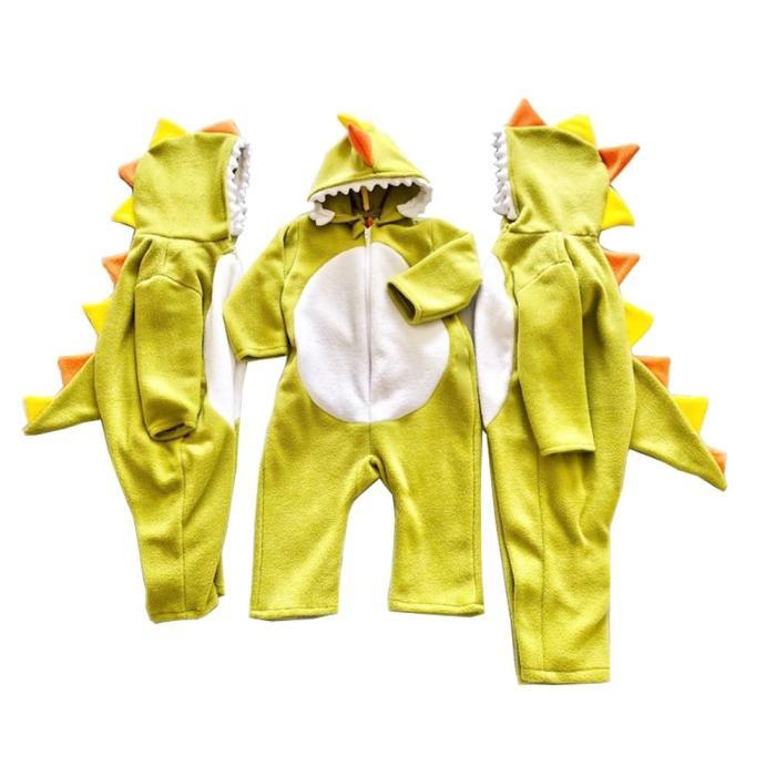 Dinosaur Jumpsuit Hoodie For Baby Toddler Onesie Kids Animal Costume