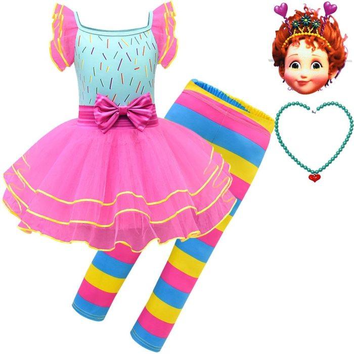 Kids Fancy Dress Party Halloween Costume Nancy Costume Inspired Tutu Dress Infant Toddler Girls Costume Dress