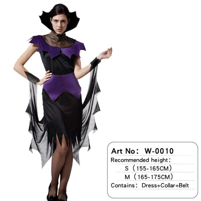 Adult Men Women Halloween Costume Cosplay Skull Devil Ghost Costumes With Skeleton Printing Zombie Clothes