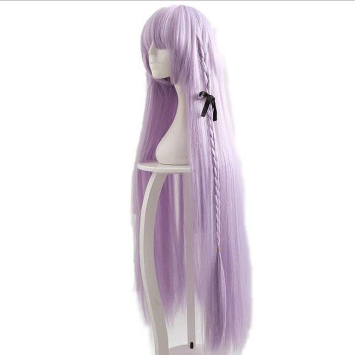 Gmae Danganronpa Kirigiri Kyouko Cosplay Costume Anime Dress Set With Wigs Halloween Costume For Women And Men Cosplay Costumes
