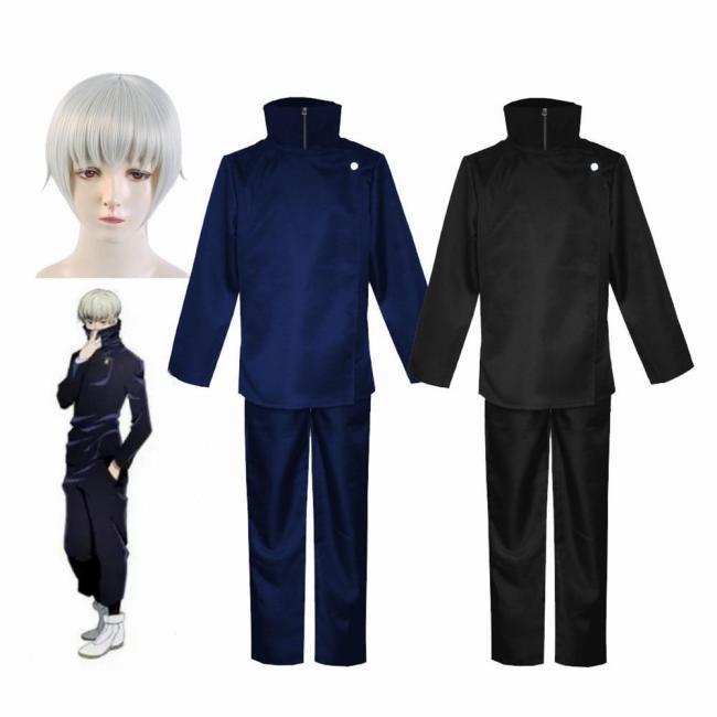 Jujutsu Kaisen Anime Toge Inumaki Cosplay Costume Top Pants School Uniform Set