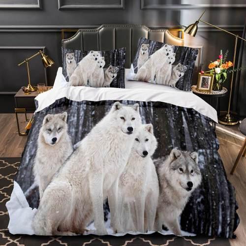 Cute Animals Bedding Set Quilt Duvet Covers Comforter Bed Sheets