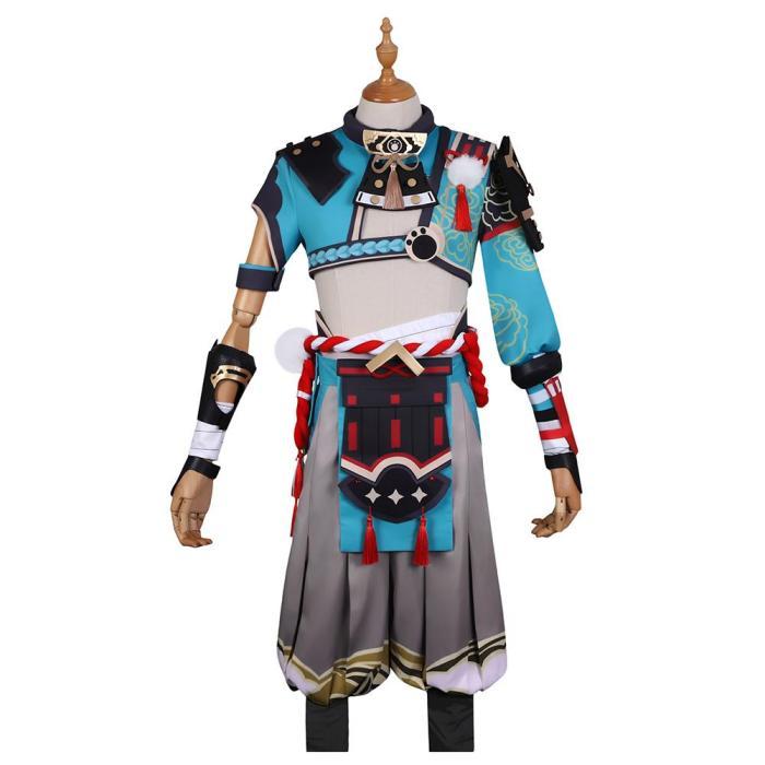 Genshin Impact Gorou Halloween Drive Thru Cosplay Costume