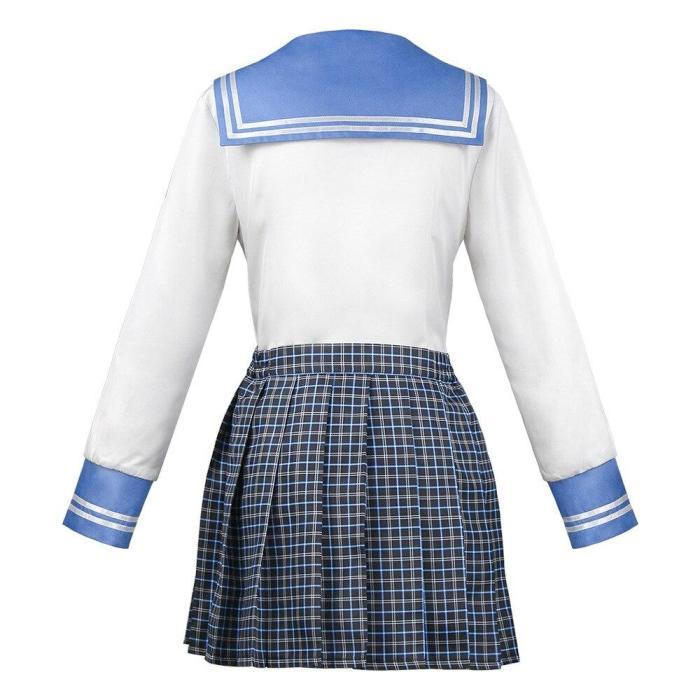 Anime Danganronpa Maizono Sayaka Dresses Uniform Cosplay Costume Clothes Female
