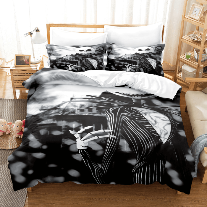 The Nightmare Before Christmas Bedding Set Duvet Covers Bed Sheets