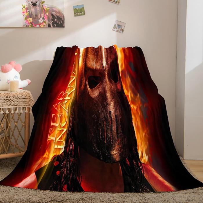 Wwe Raw Cosplay Flannel Fleece Throw Blanket Comforter Bedding Sets