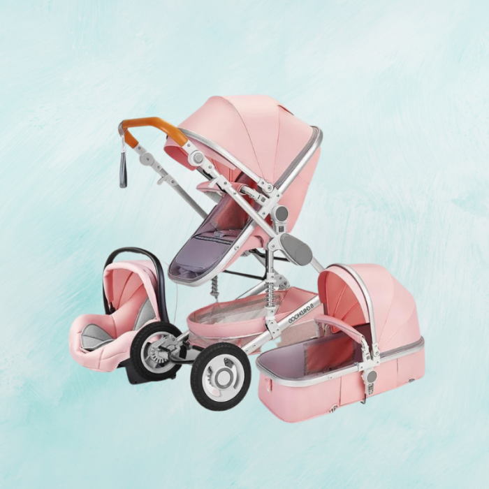 All-In-One Safe Comfy Baby Stroller