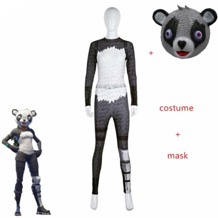 Pink Sexy Costume Women Battle Royale Clothes Set Fortress Adult Halloween Carnival Costumes Fantasia Adult Clothing Set