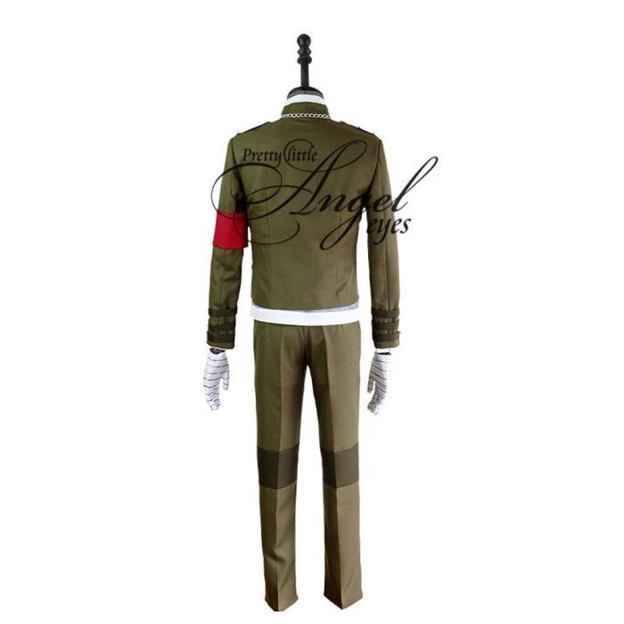 Gray Game Danganronpa V3 Korekiyo Shinguji Full Set Cosplay Man Costume Outfit School Uniform All Suit For Carnival
