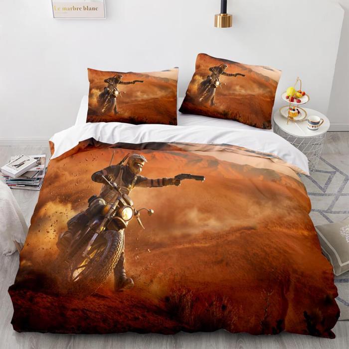 Rainbow Six Siege Bedding Set Quilt Duvet Covers Comforter Bed Sheets