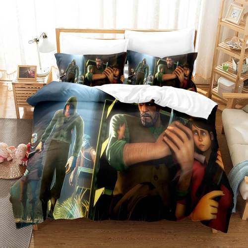 The Last Of Us Cosplay Bedding Sets Comforter Duvet Covers Sheets