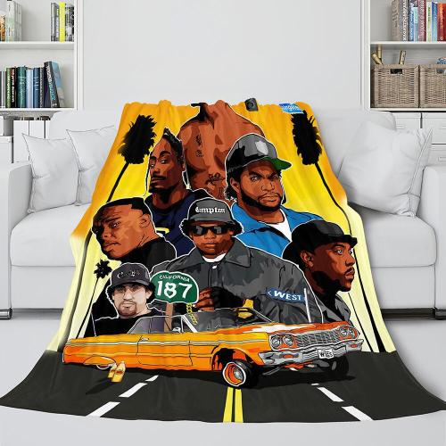 Tupac Amaru Shakur Flannel Blanket Fleece Throw Blanket Bedding Sets