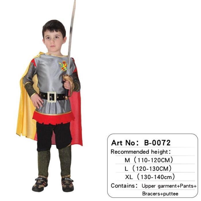 Kids Child Costume Greek Roman Warrior Knight Christmas For Boys Halloween Carnival Birthday Party Fancy Dress No Weapon